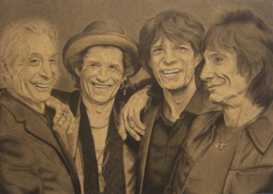 The Rolling Stones par DOM